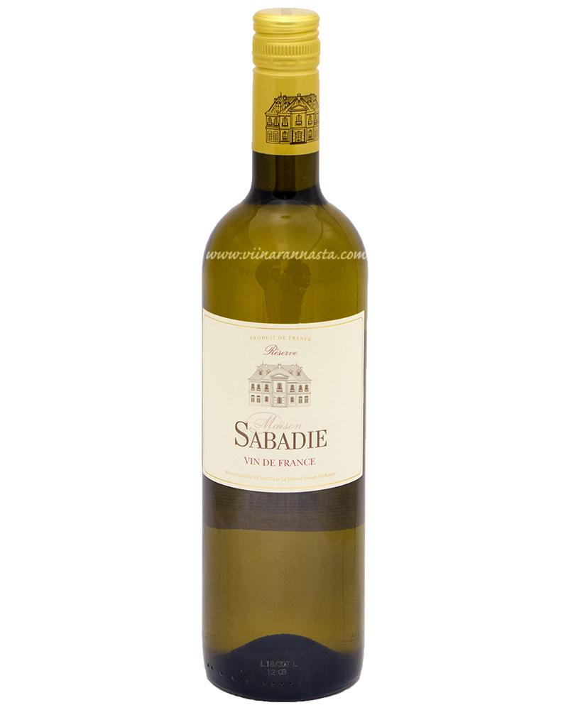 Maison Sabadie Reserve Blanc 12% 75cl