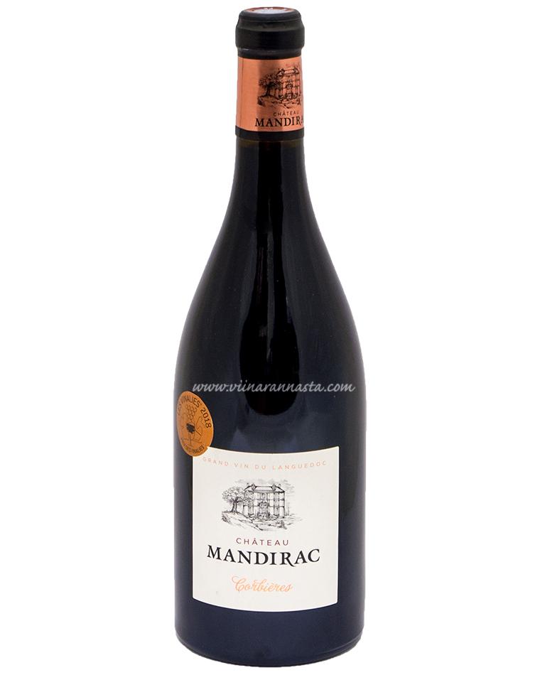 Chateau Mandirac Corbieres 14% 75cl