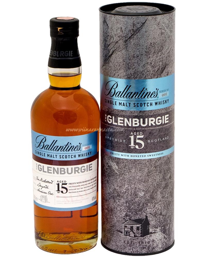 Ballantines Glenburgie 15YO 40% 70cl