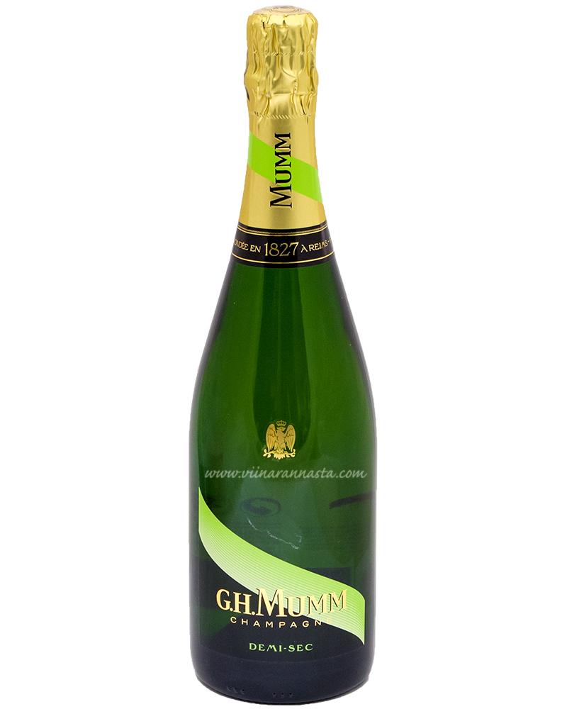 G.H. Mumm Demi-Sec Champagne 12% 75cl