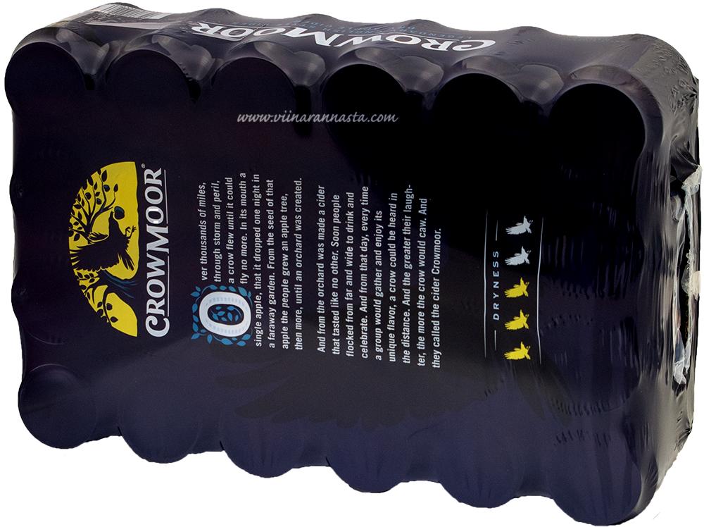 Crowmoor Dry Apple Cider 4,7% 24x33cl