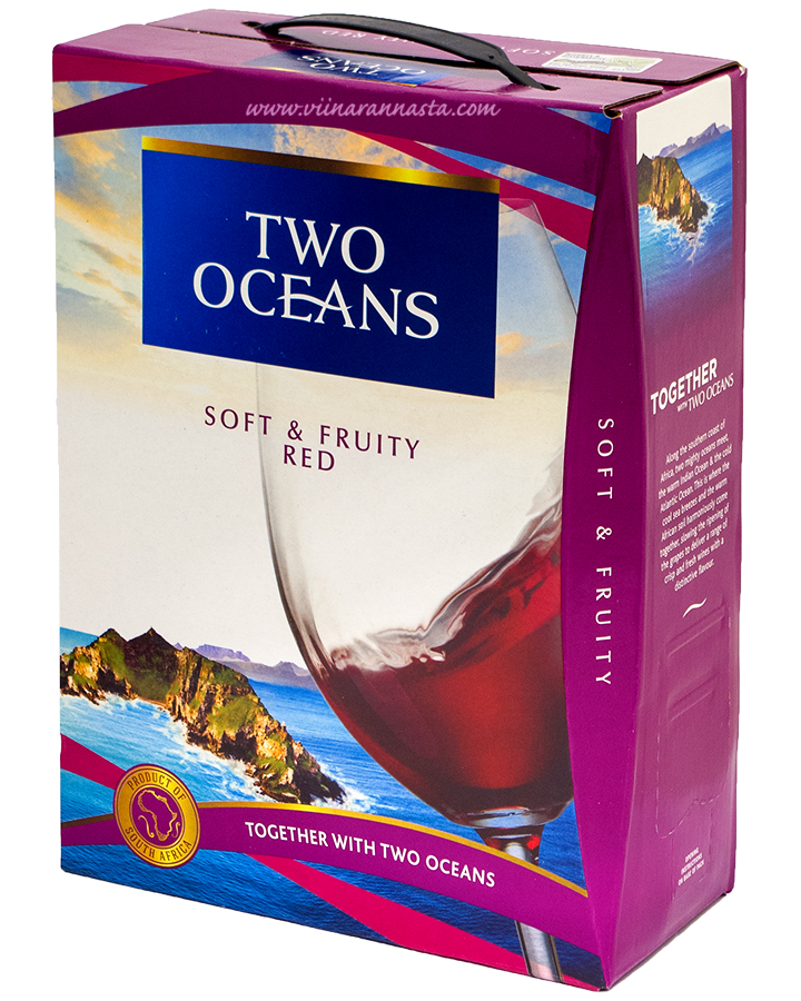 Two Oceans Soft & Fruity Red 13,5% 300cl BIB