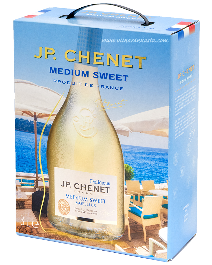 J.P. Chenet Medium Sweet White 11,5% 300cl BIB