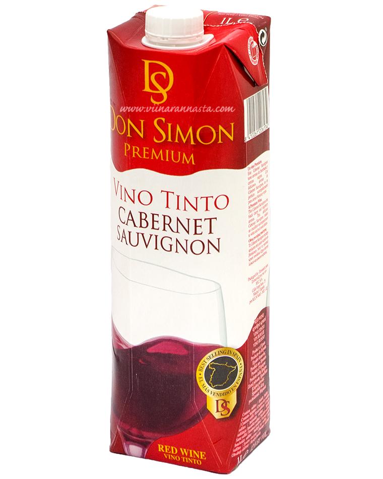 Don Simon Cabernet Sauvignon 12% 100cl TETRA
