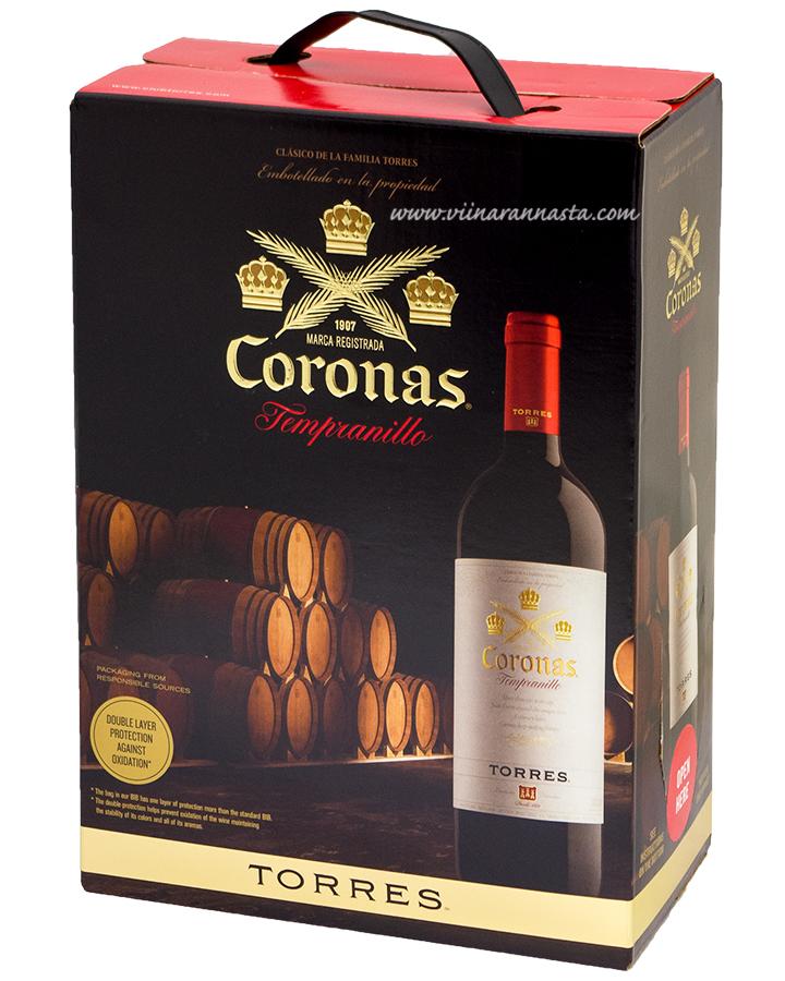 Torres Coronas Tempranillo 13,5% 300cl BIB