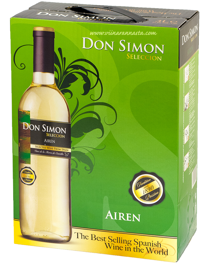 Don Simon Seleccion Airen 11,5% 300cl BIB