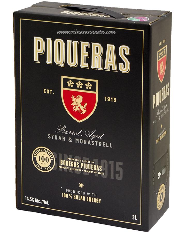 Piqueras Syrah-Monastrell 14,5% 300cl BIB