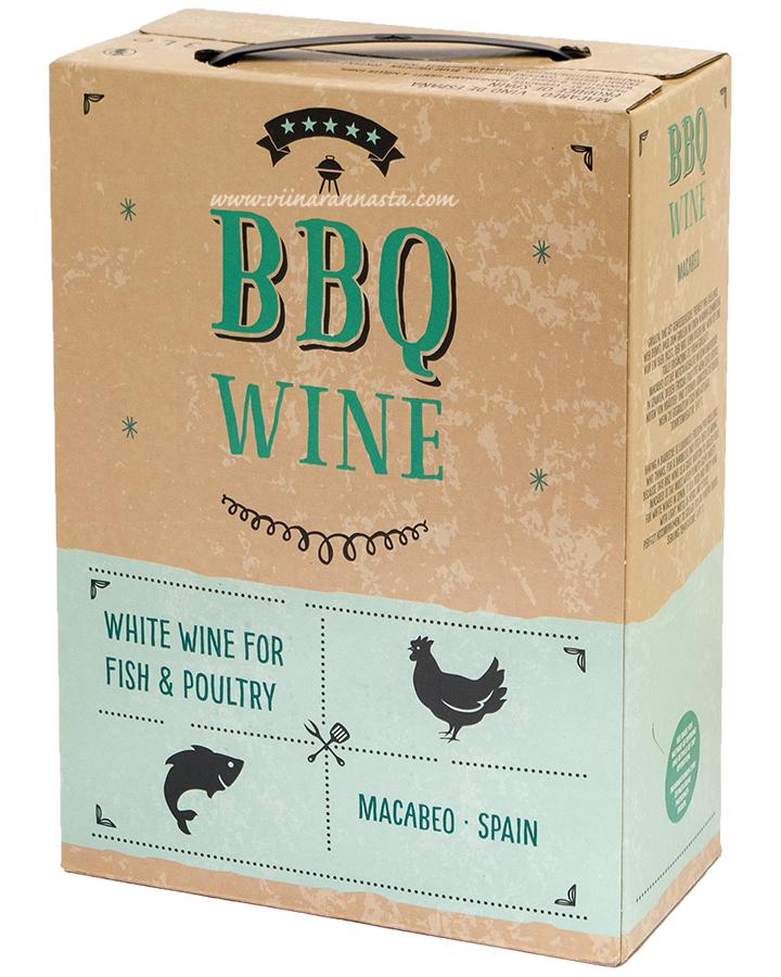 BBQ Wine Macabeo 10,5% 300cl BIB