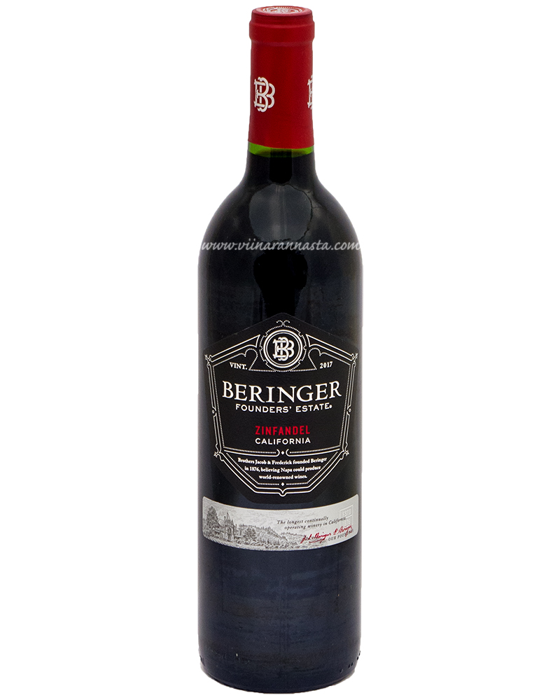 Beringer Founders Estate Zinfandel 14,5% 75cl