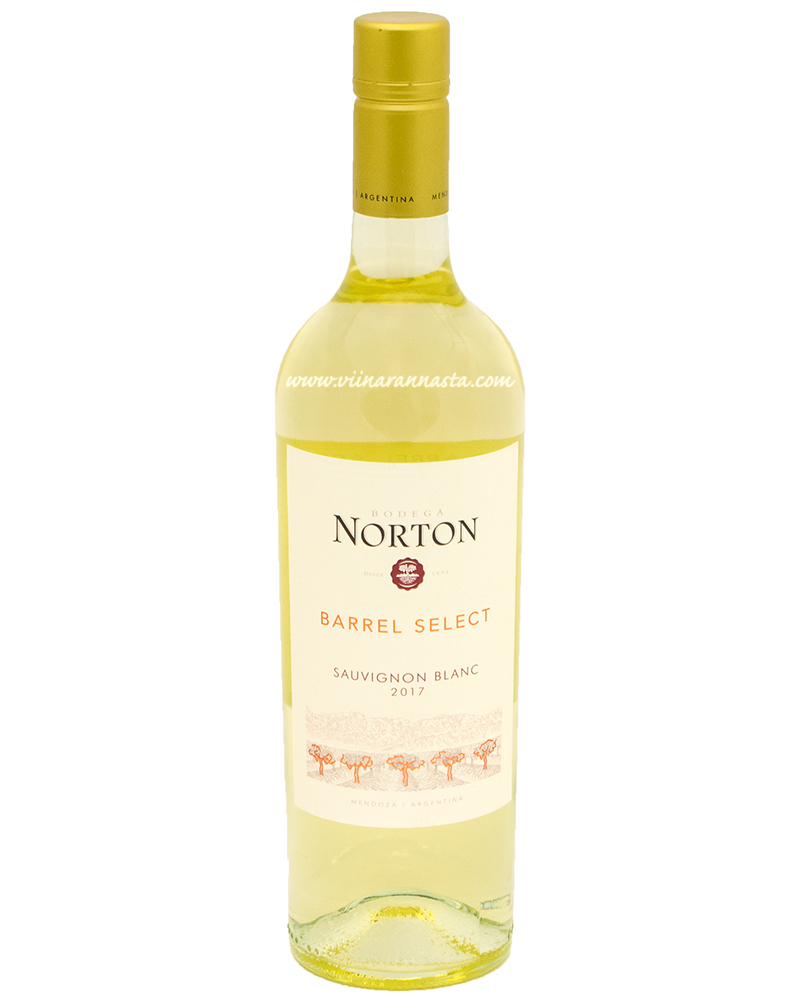 Norton Barrel Select Sauvignon Blanc 13% 75cl