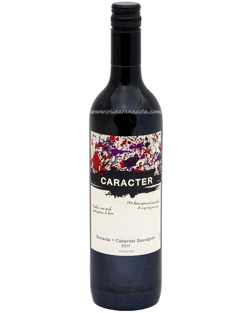 Caracter Bonarda-Cabernet Sauvignon 12% 75cl