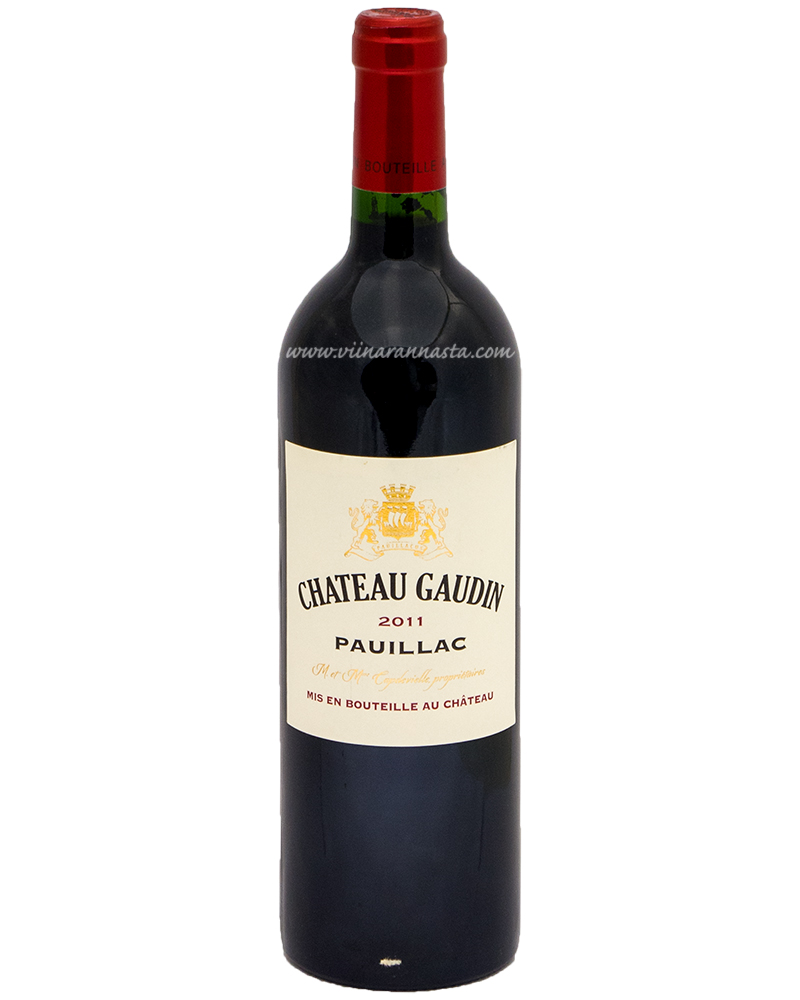 Chateau Gaudin Pauillac 13% 75cl