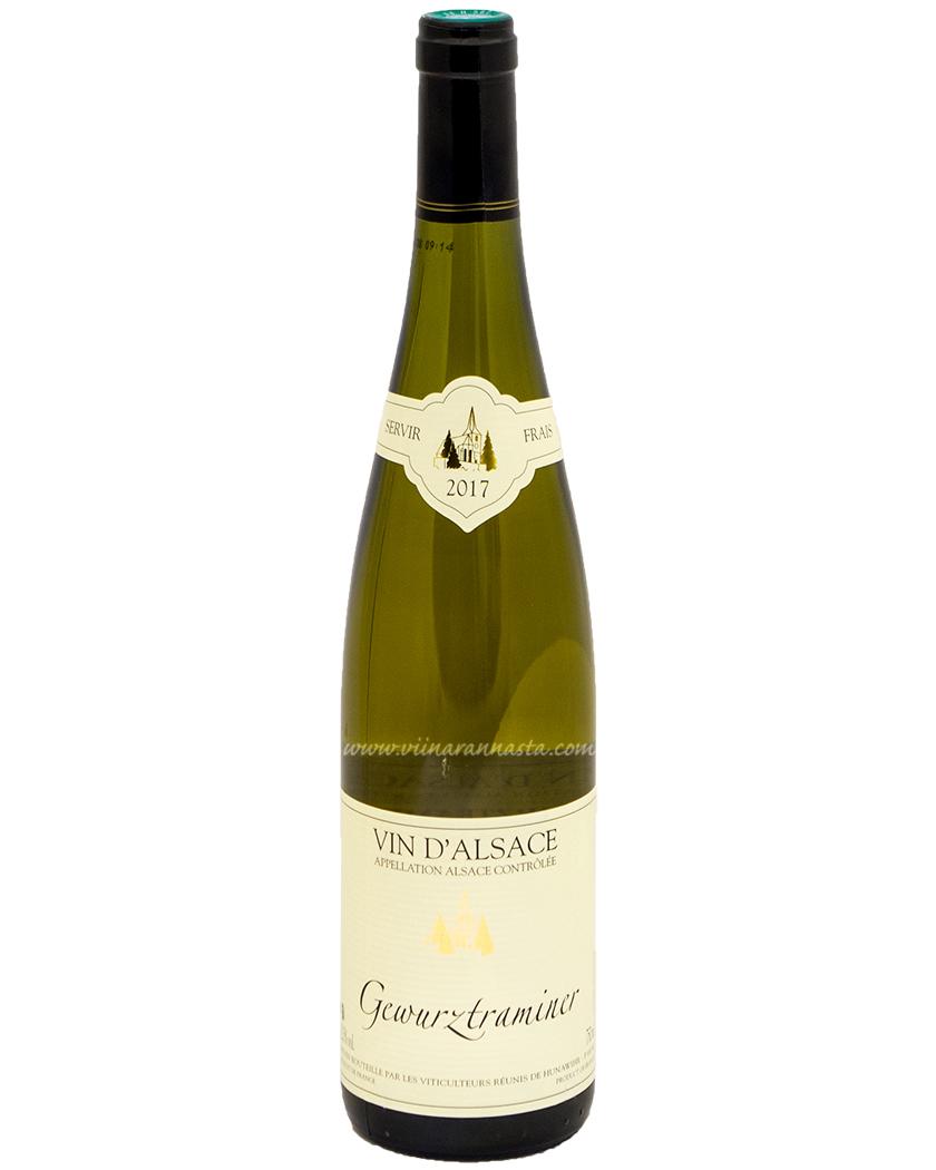 Hunawihr Vin D Alsace Gewurztraminer 12,5% 75cl