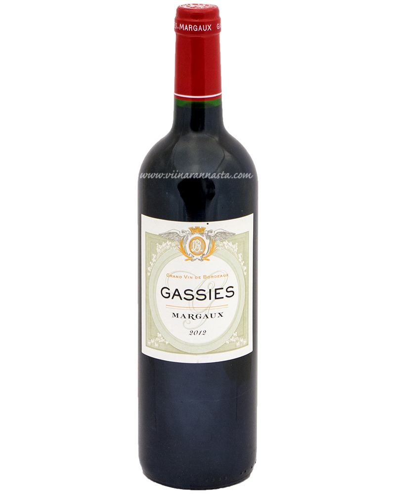 Gassies Margaux 13% 75cl