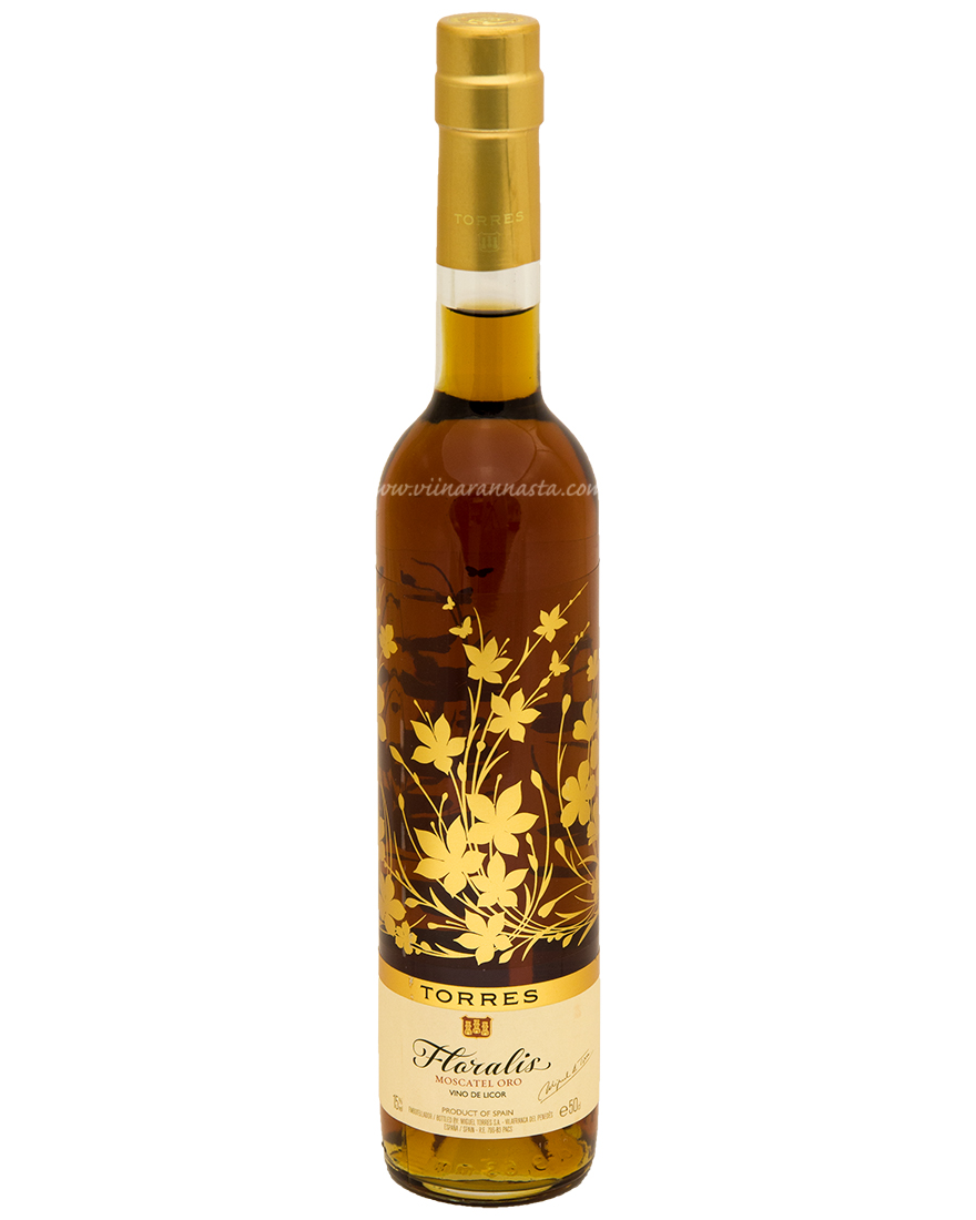 Torres Floralis Moscatel Oro 15% 50cl