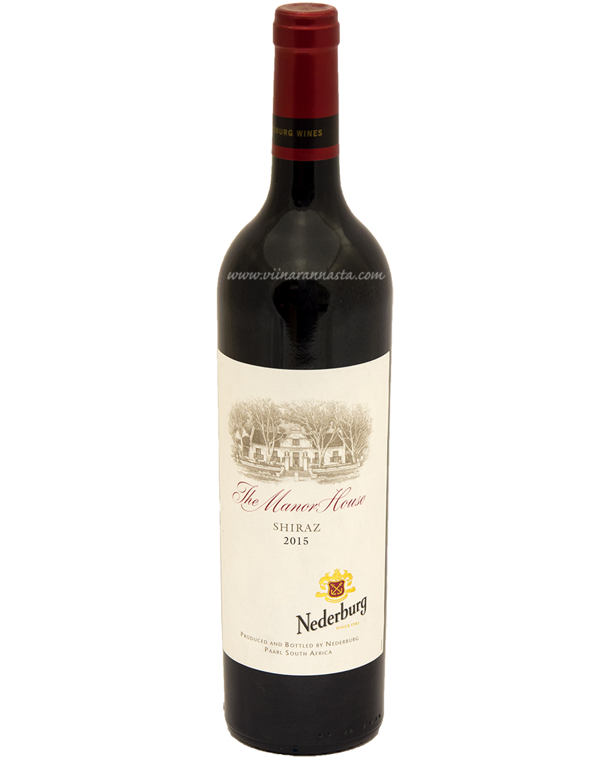 Nederburg Manor House Shiraz 14,5% 75cl