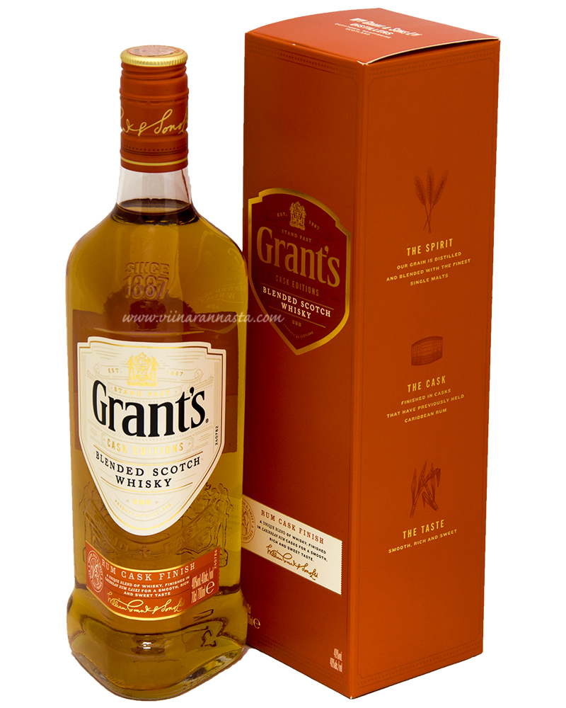 Grants Family Reserve Rum Cask 40% 70cl GB