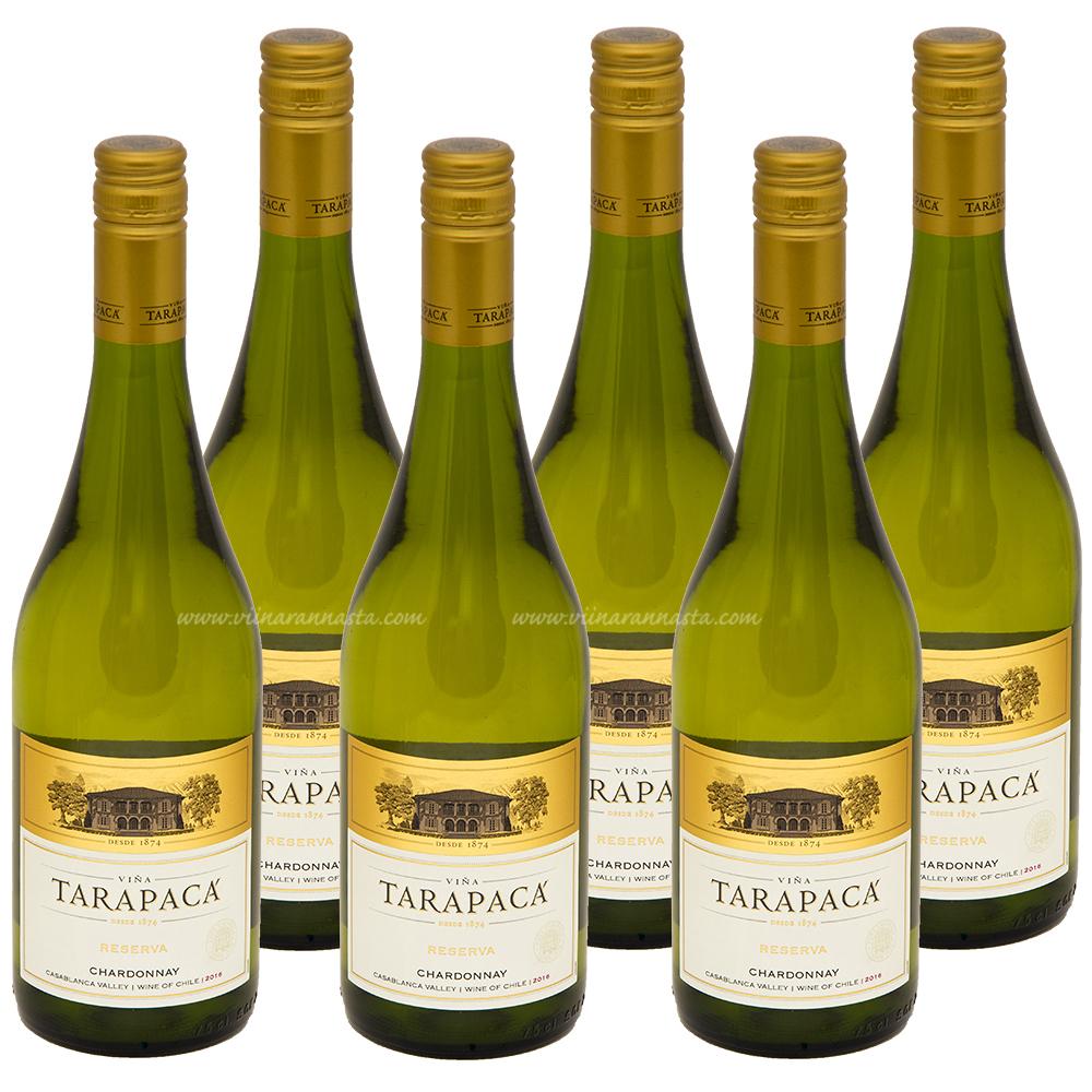 Tarapaca Reserva Chardonnay 13% 6x75cl