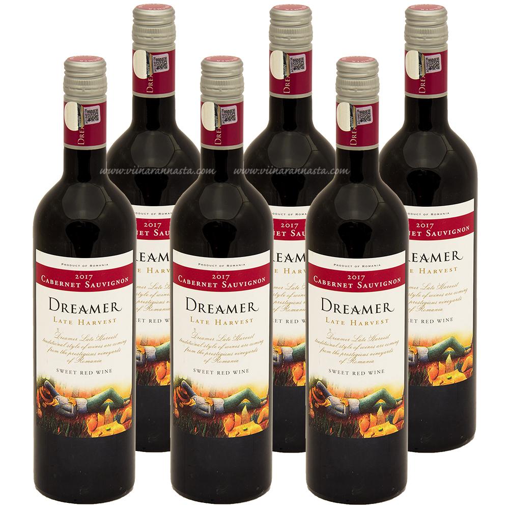 Dreamer Late Harvest Cabernet Sauvignon 12% 6x75cl