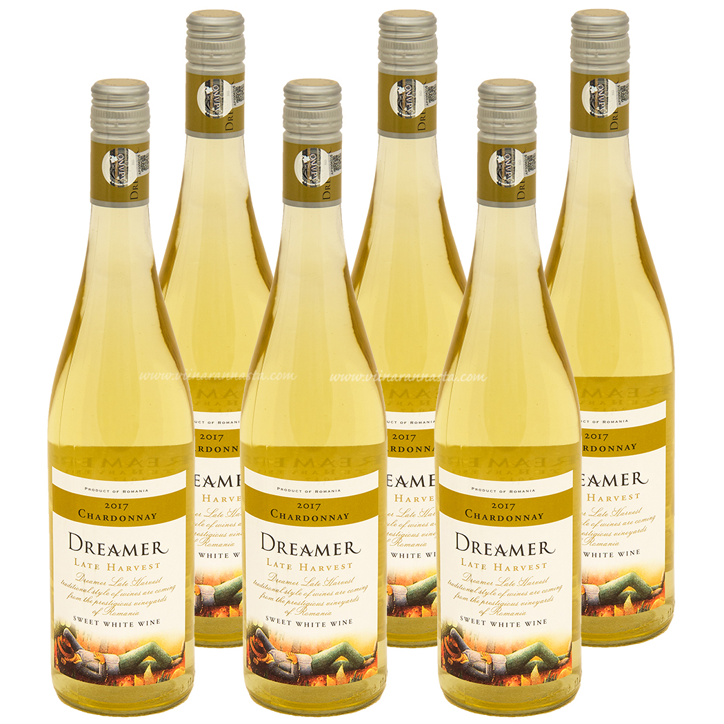 Dreamer Late Harvest Chardonnay 11,5% 6x75cl