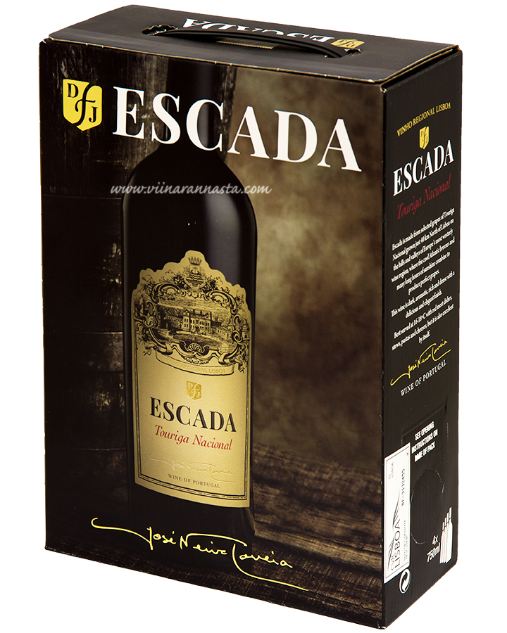 Escada Touriga Nacional 12,5% 300cl BIB