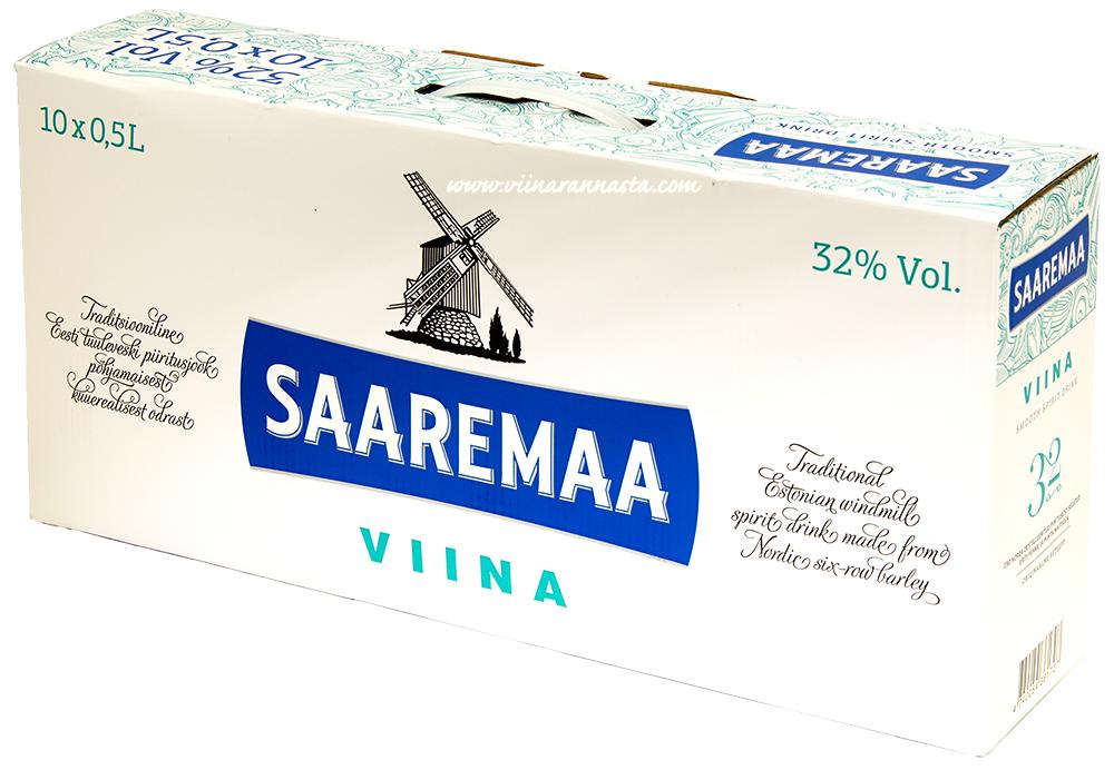 Saaremaa Viina 32% 10x50cl PET