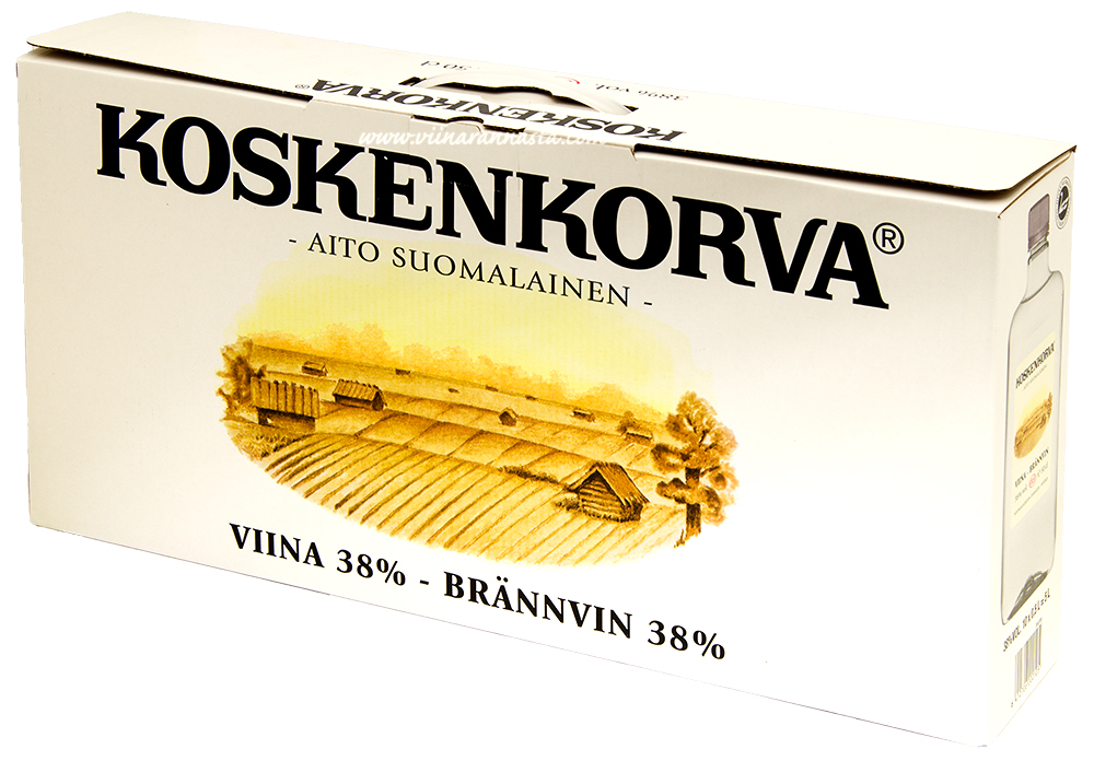 Koskenkorva 38% 10X50cl PET
