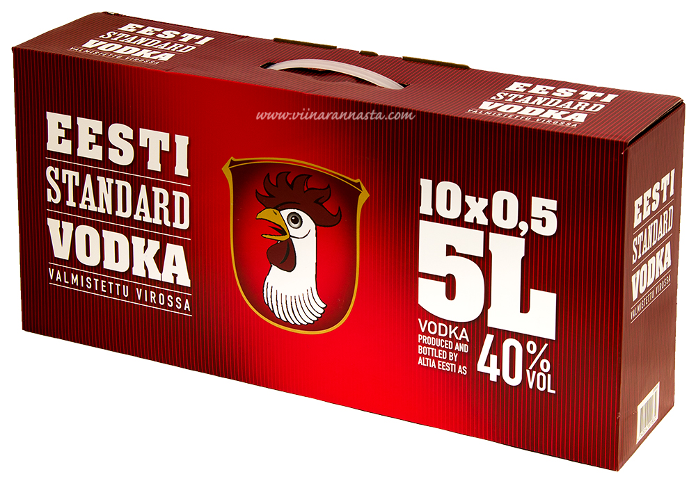 Eesti Standard Vodka 40% 10x50cl PET