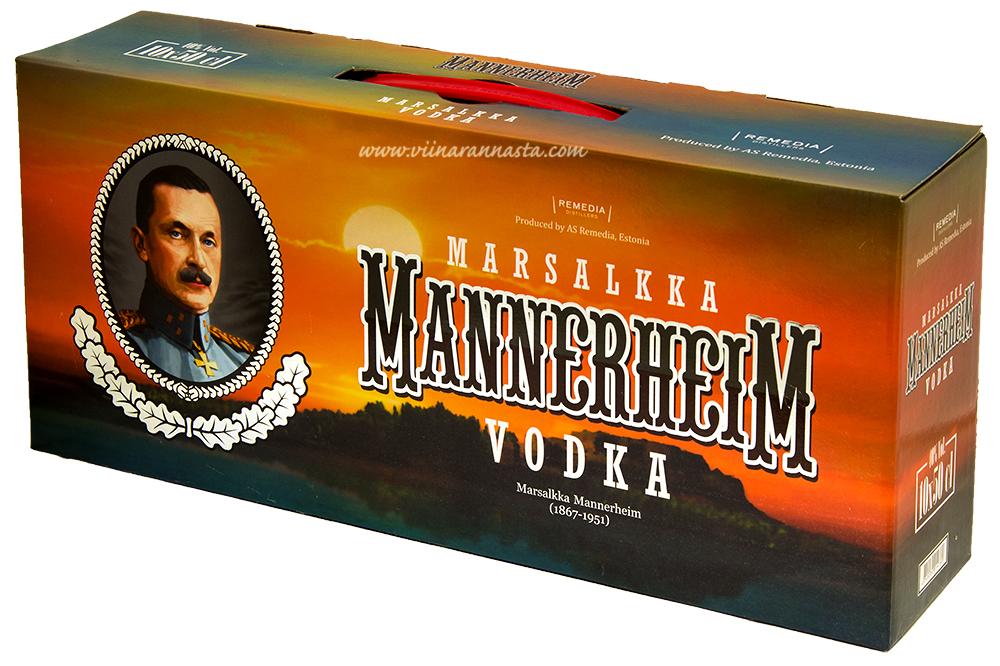 Mannerheim Vodka 40% 10x50cl PET