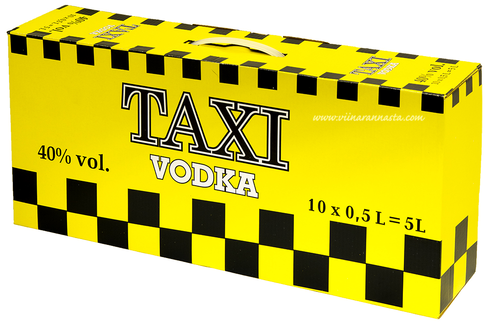 Taxi Vodka 40% 10x50cl PET