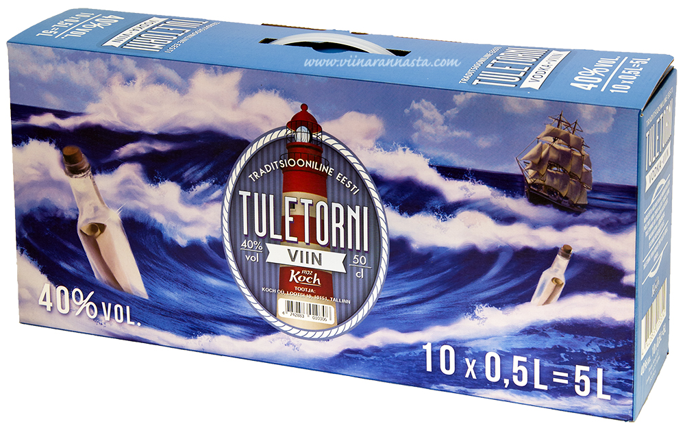 Tuletorni Viin 40% 10x50cl BOX