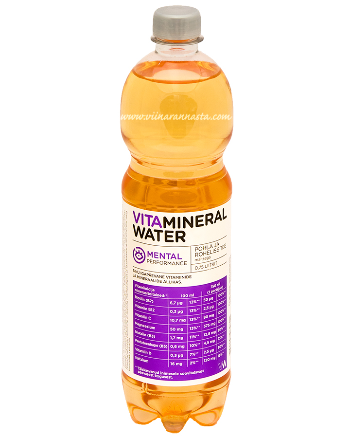 Vitamineral Water Mental 75cl