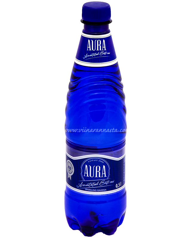 Aura Gaasiga 50cl PET