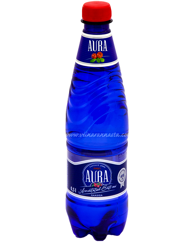 Aura Pohla Gaasiga 50cl PET