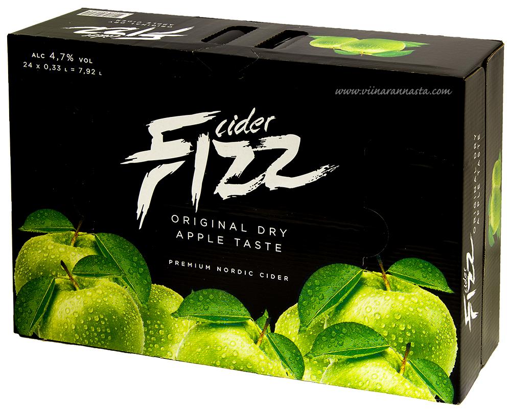 Fizz Original Dry Cider 4,7%  24x33cl