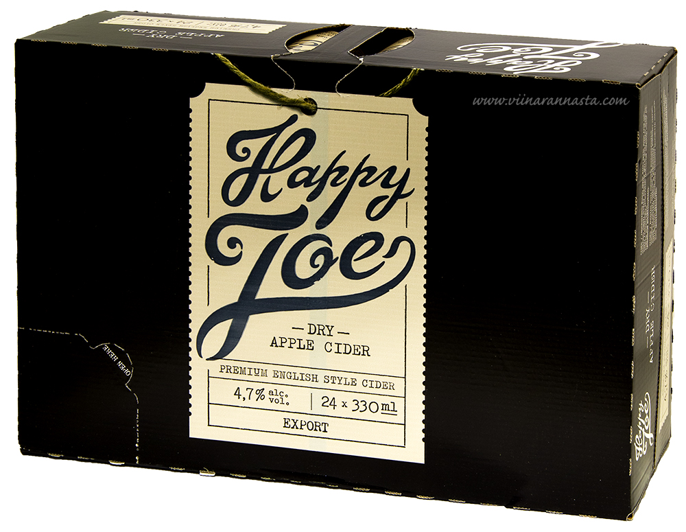 Happy Joe Dry Apple Cider 4,7% 24x33cl