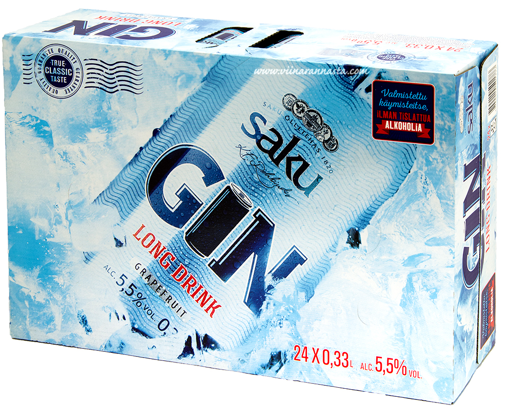 Saku GN Grapefruit 5,5% 24x33cl