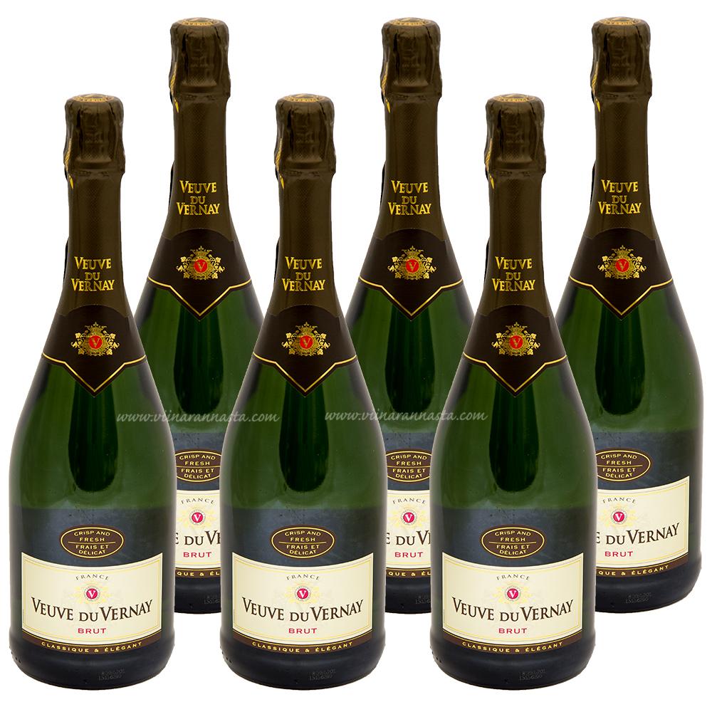 Veuve du Vernay Brut 11% 6x75cl