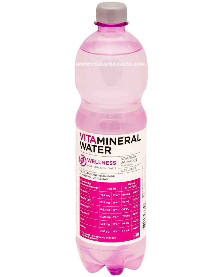 Vitamineral Water Wellness 75cl