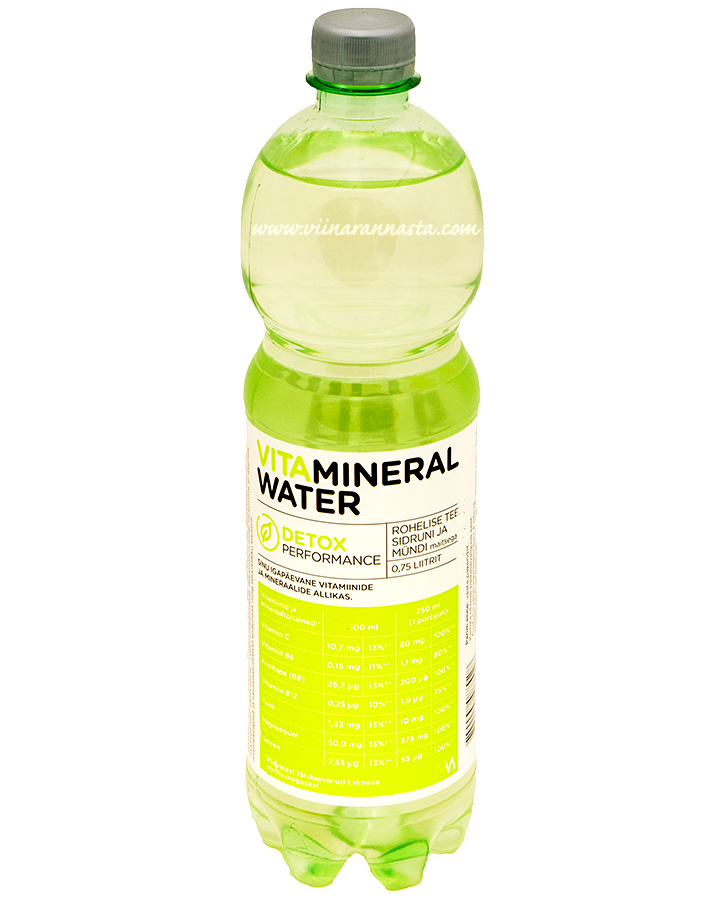 Vitamineral Water Detox 75cl