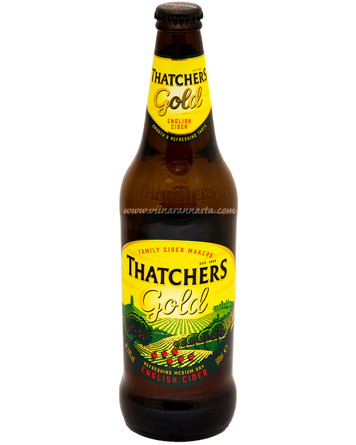 Thatchers Gold English Cider 4,8% 50cl