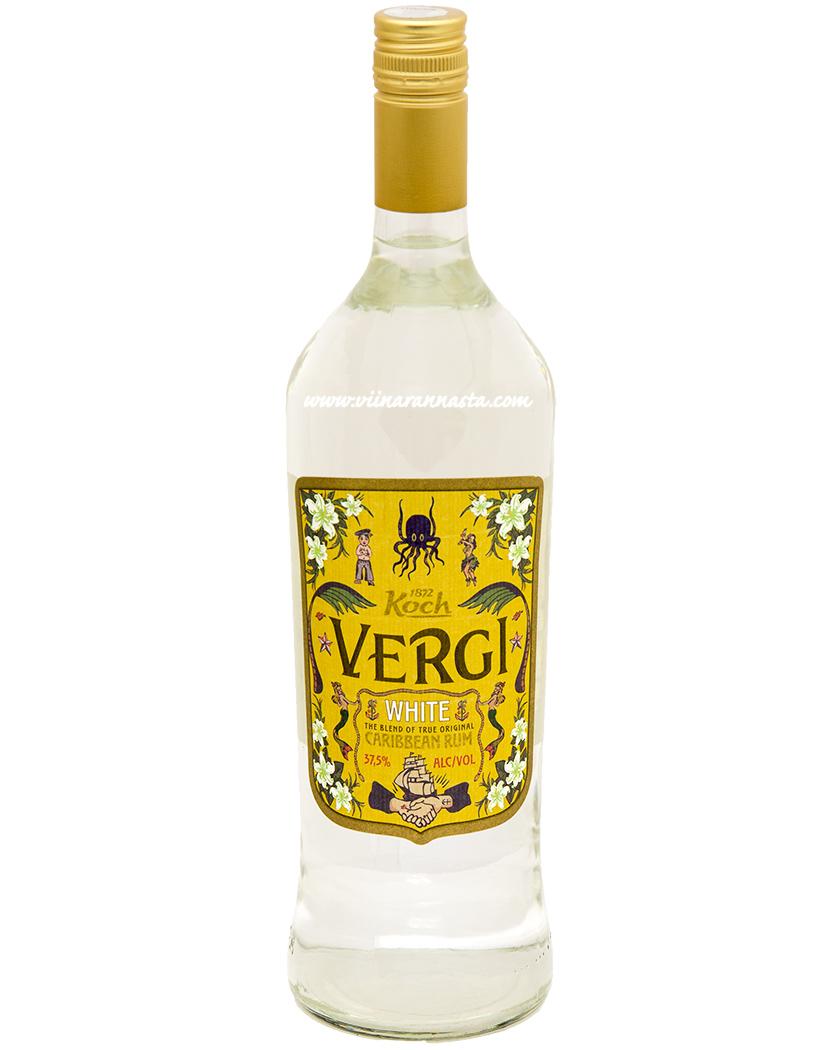 Vergi White Caribbean Rum 37,5% 100cl