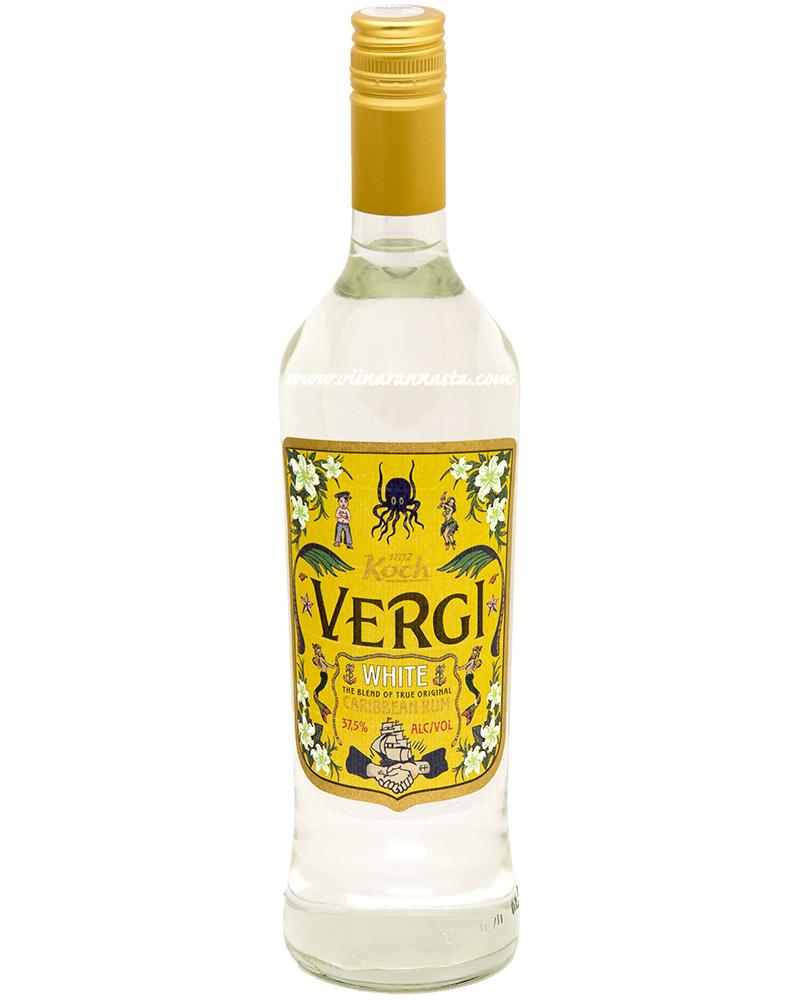 Vergi White Caribbean Rum 37,5% 70cl