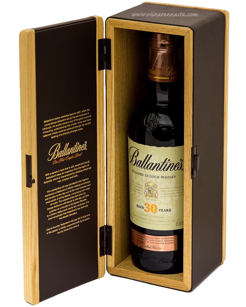 Ballantines 30YO Blended Scotch Whisky 43% 70cl