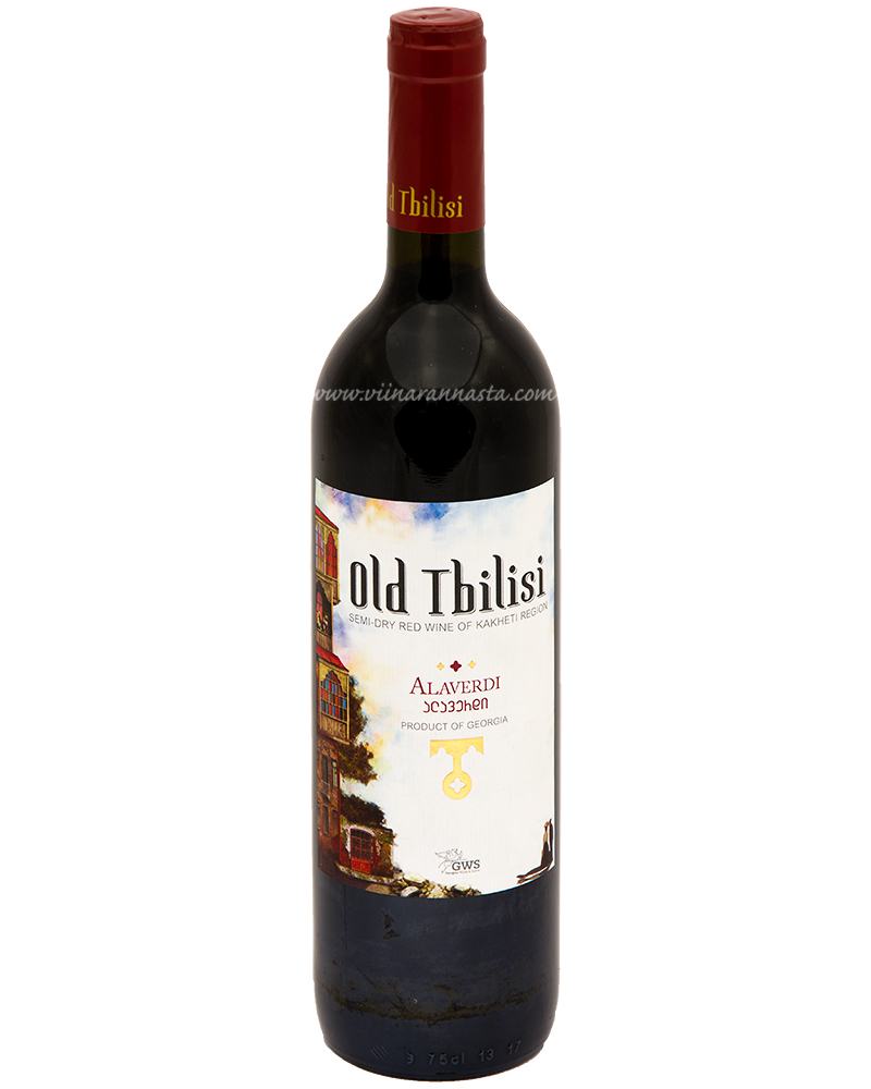 Old Tbilisi Alaverdi Semi-Dry Red 12,5% 75cl