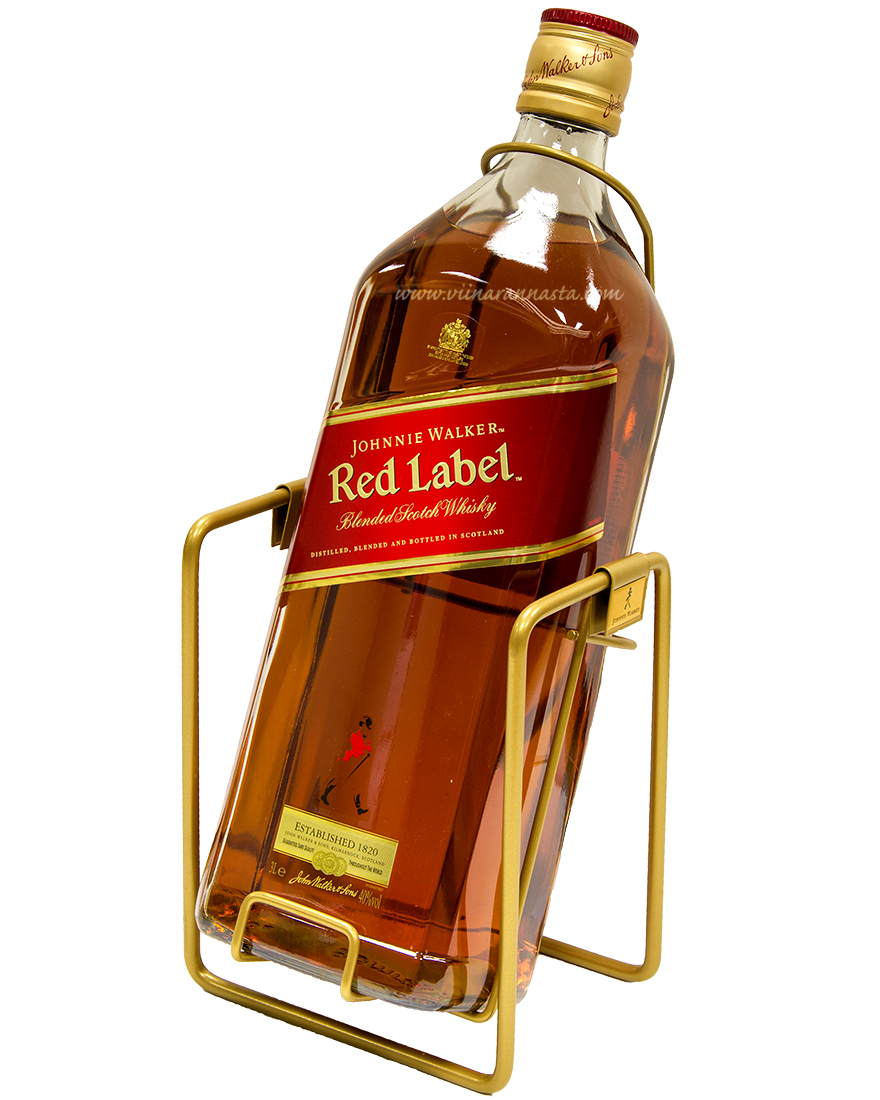 Johnnie Walker Red Label 40% 300cl SWING