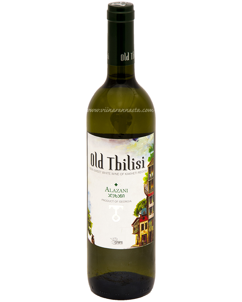 Old Tbilisi Alazani Semi Sweet White 11,5% 75cl