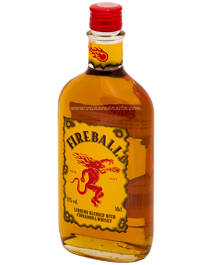 Fireball Cinnamon & Whisky 33% 50cl