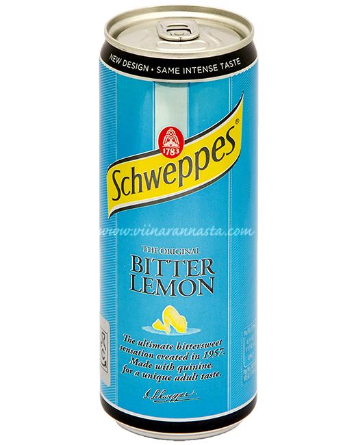 Schweppes Bitter Lemon 33cl