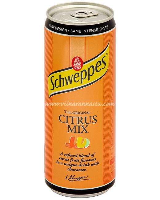 Schweppes Citrus Mix 33cl